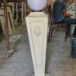ستون روشنایی فایبرگلاس مدل ورساچ