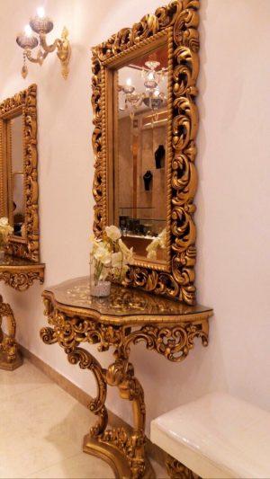 آینه و کنسول شایسته 130