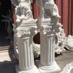 مجسمه سوزان و پایه ستون یک متری