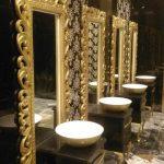 قاب آینه سرویس بهداشتی و آرایشی 180 سانت