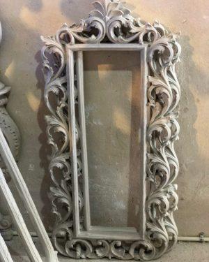 قاب آینه بدون رنگ طبرستان