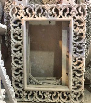 قاب آینه بدون رنگ توری