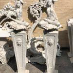 ستون ورساچه و زن مصری روشنایی فایبر گلاس