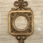 قاب آینه فایبرگلاس مدل آوین